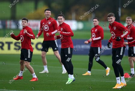 Editorial image of Wales Football Training - 14 Nov 2020