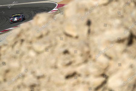 BAHRAIN INTERNATIONAL CIRCUIT, BAHRAIN - NOVEMBER 13: #54 AF Corse Ferrari 488 GTE EVO: Thomas Flohr, Francesco Castellacci, Giancarlo Fisichella during the Bahrain II at Bahrain International Circuit on November 13, 2020 in Bahrain International Circuit, Bahrain. (Photo by JEP / LAT Images)
