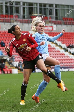 Editorial image of Manchester United Women v Manchester City Women, FA Women's Super League - 14 Nov 2020