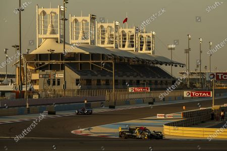 Stock Photo of BAHRAIN INTERNATIONAL CIRCUIT, BAHRAIN - NOVEMBER 14: #37 Jackie Chan DC Racing Oreca 07: Ho-Pin Tung, Gabriel Aubry, Will Stevens during the Bahrain II at Bahrain International Circuit on November 14, 2020 in Bahrain International Circuit, Bahrain. (Photo by JEP / LAT Images)