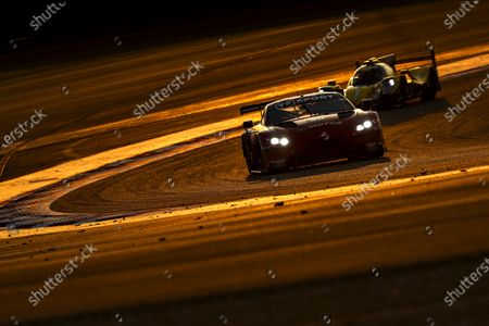 BAHRAIN INTERNATIONAL CIRCUIT, BAHRAIN - NOVEMBER 14: #90 TF Sport Aston Martin Vantage: Salih Yoluc, Charles Eastwood, Jonathan Adam during the Bahrain II at Bahrain International Circuit on November 14, 2020 in Bahrain International Circuit, Bahrain. (Photo by JEP / LAT Images)