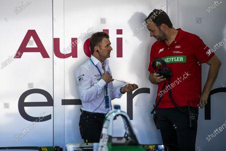 2017/2018 FIA Formula E Championship. Official Test - Valencia, Spain Monday 2 October 2017. Allan McNish - Team Priciple, Audi  Photo: Sam Bloxham/LAT/Formula E