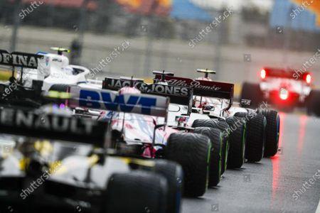 Editorial photo of 2020 F1 Turkish Grand Prix, Qualifying - 14 Nov 2020