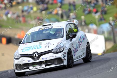 Stock Picture of 2017 Renault Clio Cup, Brands Hatch, Kent. 30th September - 1st October 2017, Ben Palmer World copyright. JEP/LAT Images