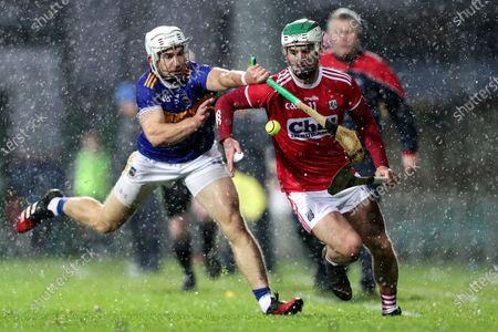 Cork vs Tipperary. Cork's Shane Kingston and Niall O'Meara of Tipperary