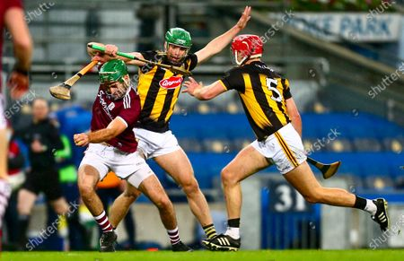 Kilkenny vs Galway. Galway's Brian Concannon in action against Kilkenny's Tommy Walsh