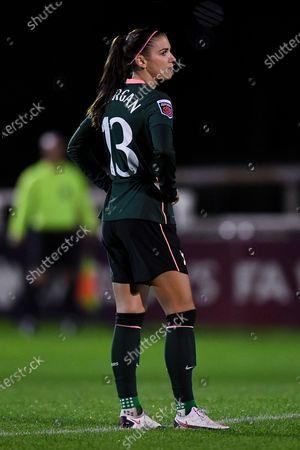 Alex Morgan of Tottenham Hotspur Women prior to kick off
