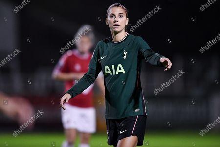 Alex Morgan of Tottenham Hotspur Women