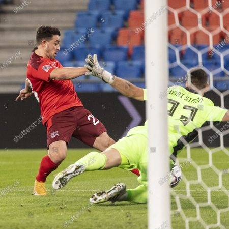 Editorial image of Switzerland vs Spain, Basel - 14 Nov 2020