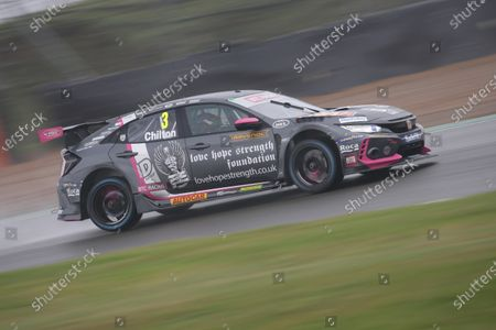 Stock Image of BRANDS HATCH, UNITED KINGDOM - NOVEMBER 14: Tom Chilton (GBR) - BTC Racing Honda Civic Type R during the Brands Hatch GP at Brands Hatch on November 14, 2020 in Brands Hatch, United Kingdom. (Photo by JEP / LAT Images)