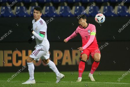 Editorial photo of Mexico South Korea Soccer, Wiener Neustadt, Austria - 14 Nov 2020