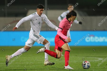 Editorial picture of Mexico South Korea Soccer, Wiener Neustadt, Austria - 14 Nov 2020