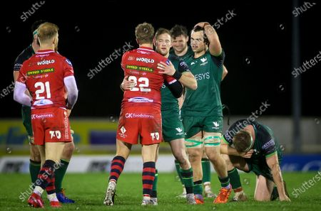 Editorial photo of Guinness PRO14, The Sportsground, Co. Galway - 14 Nov 2020
