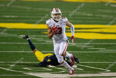 Editorial photo of Wisconsin Michigan Football, Ann Arbor, United States - 14 Nov 2020