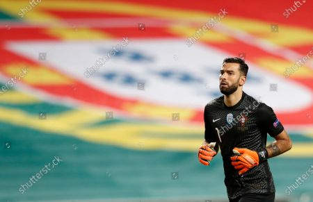 Portugal goalkeeper Rui Patricio during the UEFA Nations League soccer match between Portugal and France at the Luz stadium in Lisbon