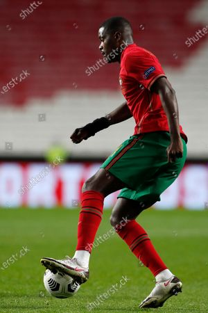 Portugal's William Carvalho during the UEFA Nations League soccer match between Portugal and France at the Luz stadium in Lisbon