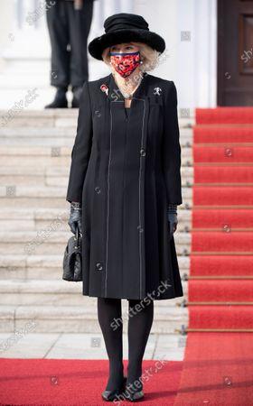 Camilla Duchess of Cornwall at Bellevue Schloss
