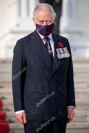 Prince Charles at Bellevue Schloss