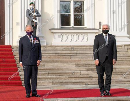 Prince Charles Frank-Walter Steinmeier at Bellevue Schloss