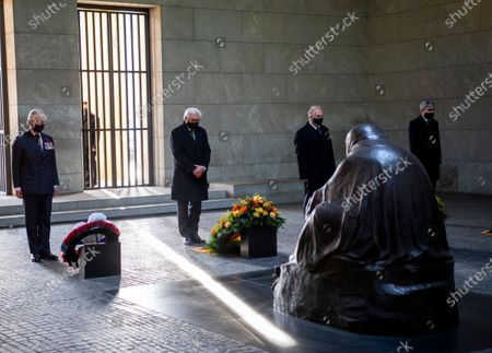 Prince Charles and Frank-Walter Steinmeier