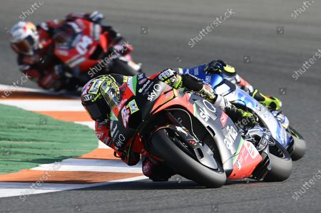 VALENCIA CIRCUIT RICARDO TORMO, SPAIN - NOVEMBER 15: Aleix Espargaro, Aprilia Racing Team Gresini during the Valencia GP at Valencia Circuit Ricardo Tormo on November 15, 2020 in Valencia Circuit Ricardo Tormo, Spain. (Photo by Gold and Goose / LAT Images)