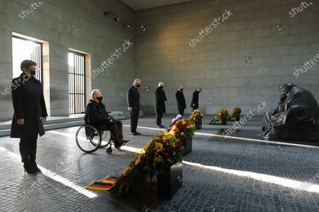 Editorial photo of Prince Charles And Camilla visit Berlin To Attend National Mourning Day Events, Germany - 15 Nov 2020
