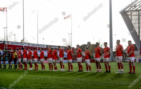 Editorial picture of Guinness PRO14, Thomond Park, Limerick, Co. Limerick - 15 Nov 2020