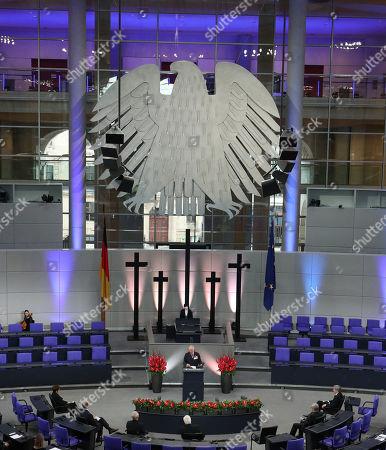 Editorial image of Prince Charles and Camilla Duchess of Cornwall visit to Berlin, Germany - 15 Nov 2020