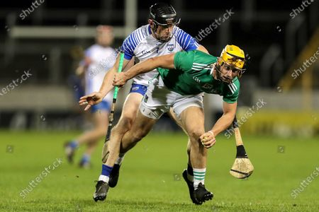 Waterford vs Limerick. Limerick's Tom Morrissey and Kevin Moran of Waterford