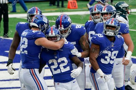 Editorial picture of Eagles Giants Football, East Rutherford, United States - 15 Nov 2020
