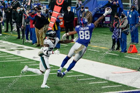 Editorial photo of Eagles Giants Football, East Rutherford, United States - 15 Nov 2020