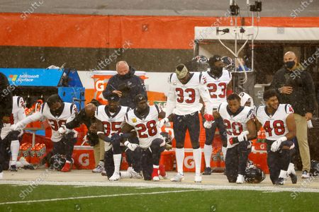 Editorial photo of Texans Browns Football, Cleveland, United States - 15 Nov 2020