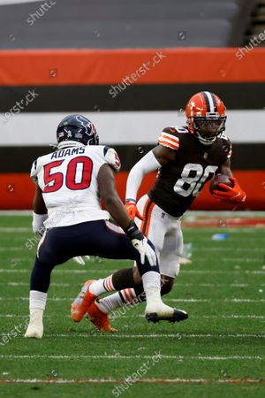 Editorial picture of Texans Browns Football, Cleveland, United States - 15 Nov 2020