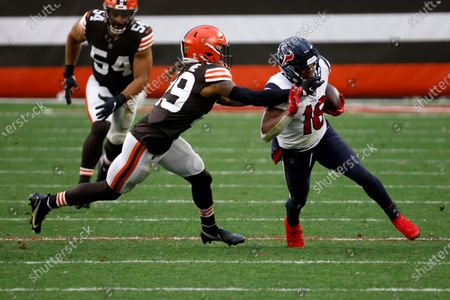Editorial image of Texans Browns Football, Cleveland, United States - 15 Nov 2020