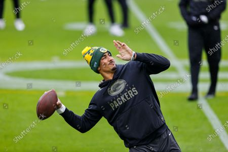 Editorial image of Jaguars Packers Football, Green Bay, United States - 15 Nov 2020