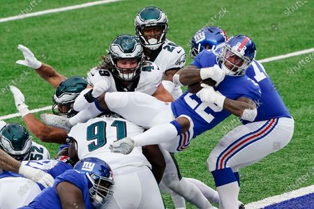 Editorial image of Eagles Giants Football, East Rutherford, United States - 15 Nov 2020