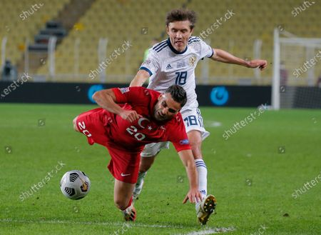 Editorial photo of Russia Nations League Soccer, Istanbul, Turkey - 15 Nov 2020
