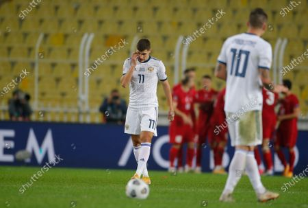 Editorial picture of Russia Nations League Soccer, Istanbul, Turkey - 15 Nov 2020