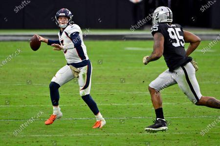 Editorial photo of Broncos Raiders Football, Las Vegas, United States - 15 Nov 2020