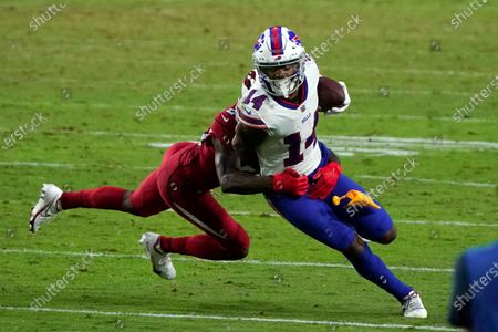 Buffalo Bills wide receiver Stefon Diggs (14) during an NFL football game against the Arizona Cardinals, in Glendale, Ariz