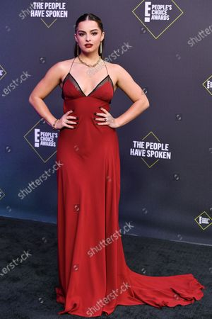 Editorial picture of 46th Annual People's Choice Awards, Arrivals, Los Angeles, California, USA - 15 Nov 2020