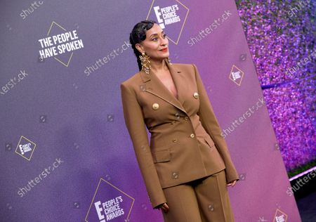 Editorial image of 46th Annual People's Choice Awards, Arrivals, Los Angeles, California, USA - 15 Nov 2020