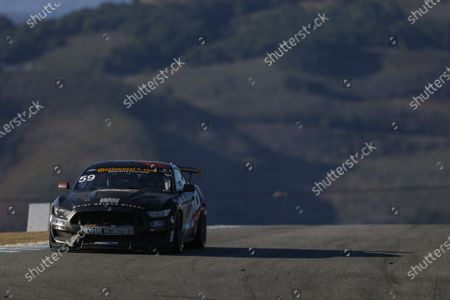 IMSA Continental Tire SportsCar Challenge Mazda Raceway Laguna Seca 240 Mazda Raceway Laguna Seca Monterey, CA USA Friday 22 September 2017 59, Ford, Ford Mustang, GS, Dean Martin, Jack Roush Jr, Nate Stacy World Copyright: Jake Galstad LAT Images