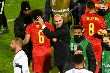 Axel Witsel and Roberto Martinez