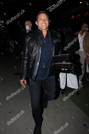 Editorial image of Jordan Belfort out and about, Los Angeles, California, USA - 14 Nov 2020