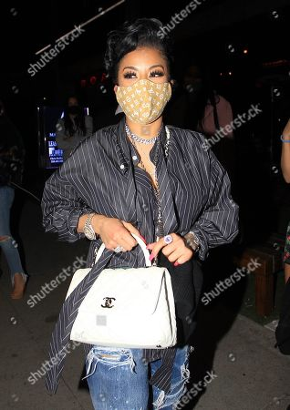 Editorial picture of Keyshia Cole out and about, Los Angeles, California, USA - 14 Nov 2020