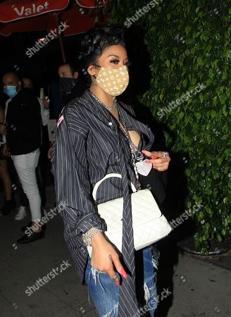 Editorial image of Keyshia Cole out and about, Los Angeles, California, USA - 14 Nov 2020