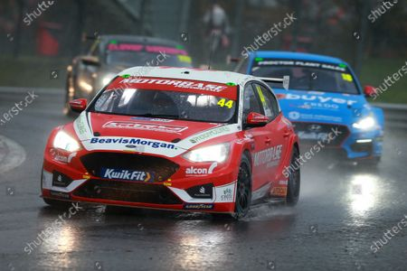 Stock Picture of BRANDS HATCH, UNITED KINGDOM - NOVEMBER 15: Andy Neate (GBR) - Motorbase Performance Ford Focus during the Brands Hatch Indy at Brands Hatch on November 15, 2020 in Brands Hatch, United Kingdom. (Photo by JEP / LAT Images)