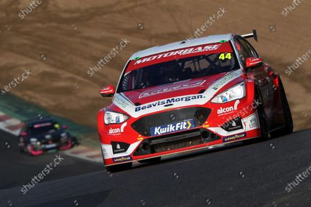 Stock Photo of BRANDS HATCH, UNITED KINGDOM - NOVEMBER 15: Andy Neate (GBR) - Motorbase Performance Ford Focus during the Brands Hatch Indy at Brands Hatch on November 15, 2020 in Brands Hatch, United Kingdom. (Photo by JEP / LAT Images)