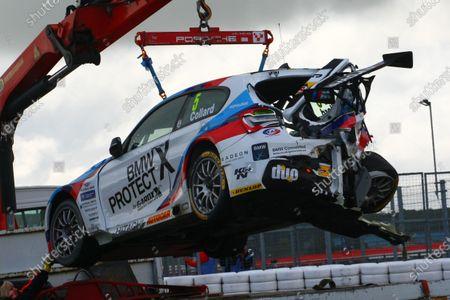 Stock Image of 2017 British Touring Car Championship, Silverstone, Northants, UK. 16th-17th September 2017 Robert Collard (GBR) Team BMW BMW 125i M Sport World copyright. JEP/LAT Images